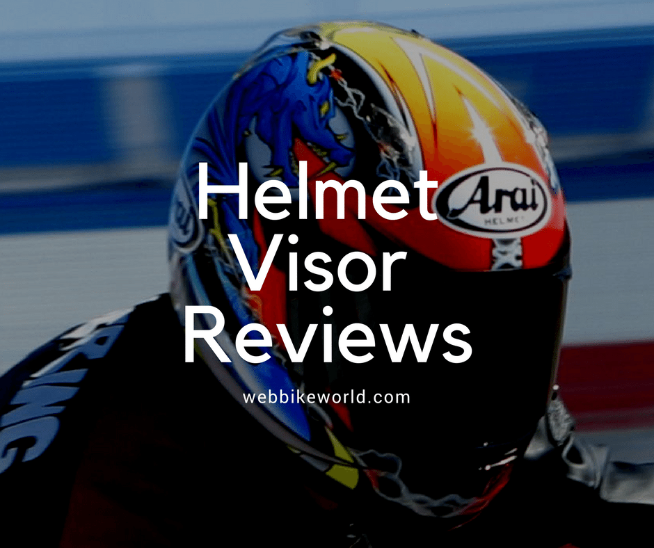 Helmet Visor Reviews
