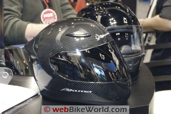 Akuma Carbon Fiber Helmet