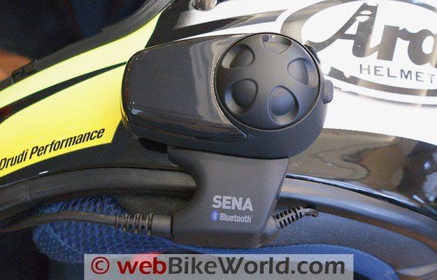 Sena SMH10 Intercom Part 2 - webBikeWorld