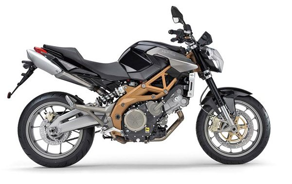Aprilia Shiver in Black