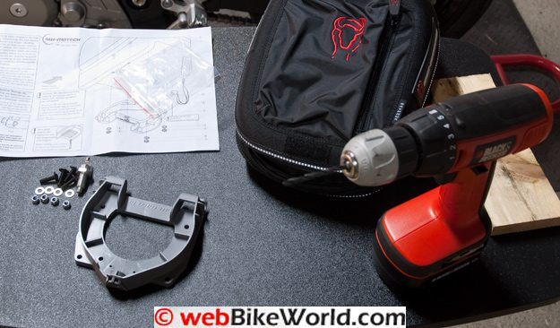Bags-Connection Daypack II and Tank Ring Parts