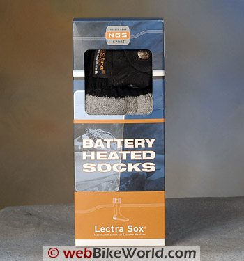 b8a6b97cc6 Battery Heated Socks - webBikeWorld