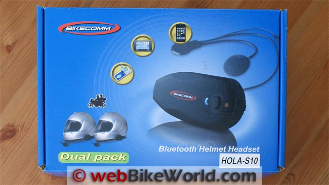 BikeComm Hola Intercom Box