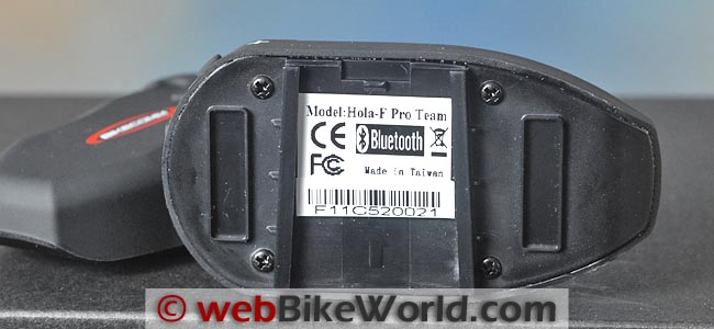 BikeComm Hola Intercom Module Bottom