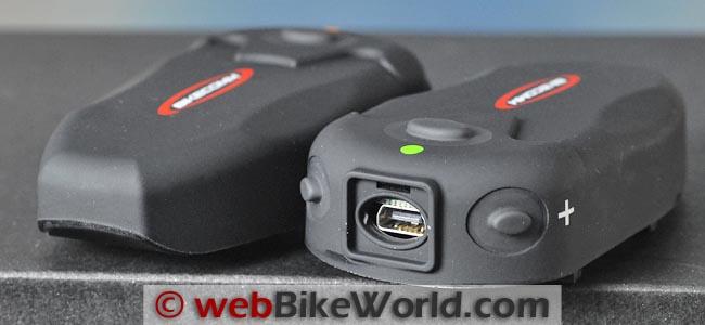 BikeComm Hola Intercom USB Port