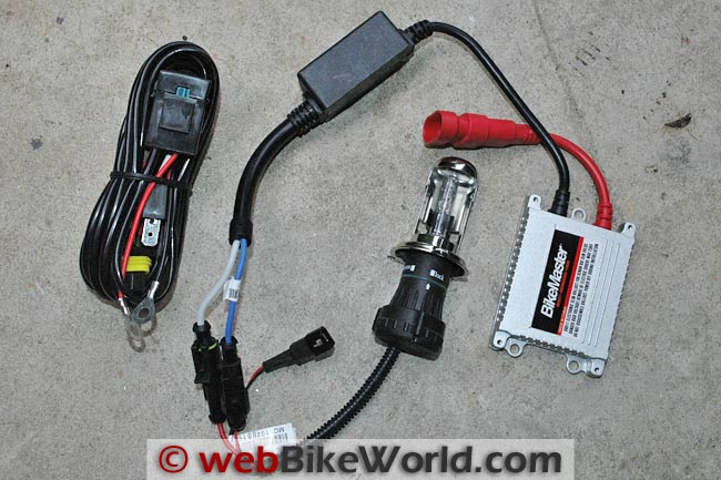 Bikemaster HID Headlight Conversion Kit