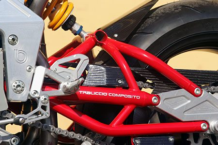 Bimota DB5 - Swingarm Detail