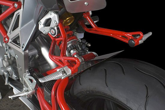 Bimota Delirio - Rear Suspension