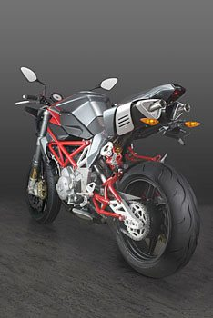 Bimota Delirio - Rear Quarter View