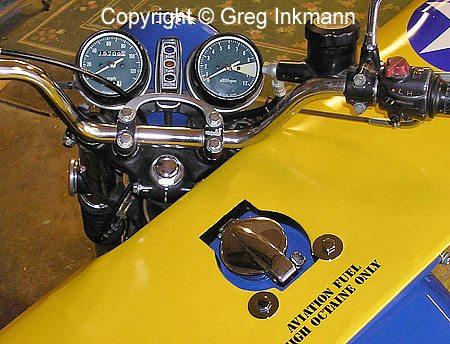 Motorcycle Stearman Conversion - Dashboard