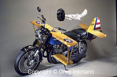 Motorcycle Stearman Conversion - Side View