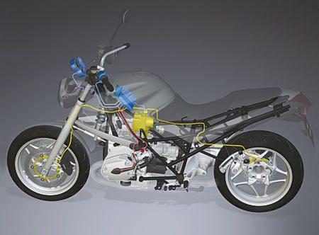 BMW Stability Control Cutaway