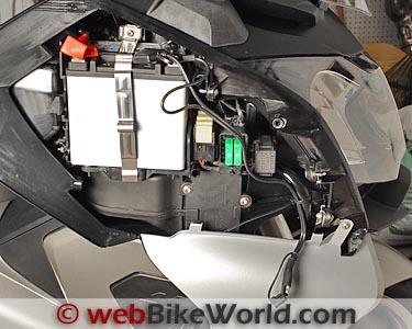 BMW C 650 GT    Battery     webBikeWorld
