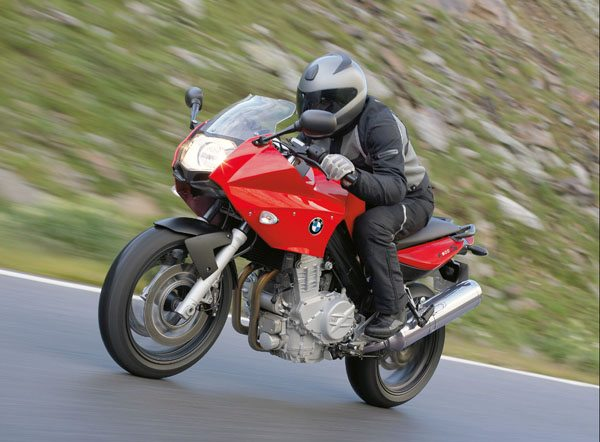 BMW F800S - Red
