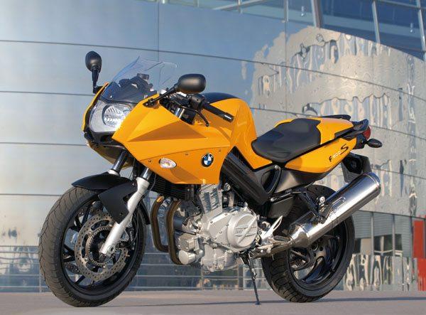 BMW F800S - Yellow