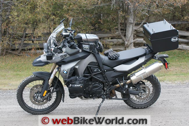 BMW F800GS Evaluating Sena SR10