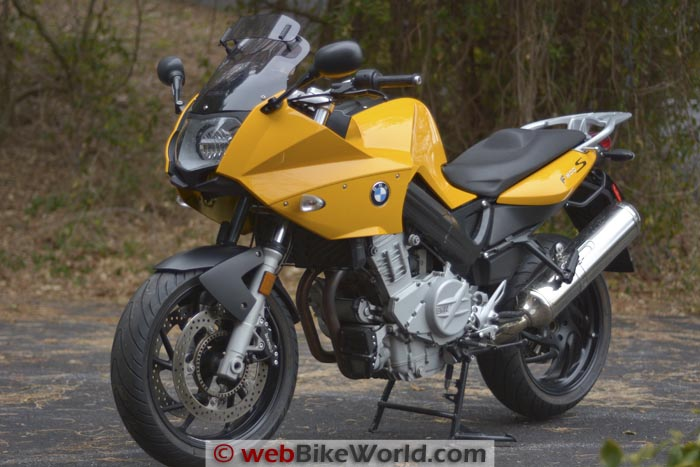 BMW F800S Left Front