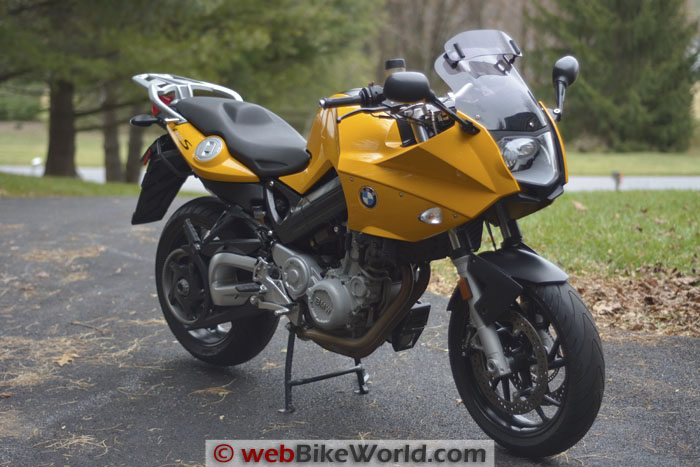BMW F800S Right Front