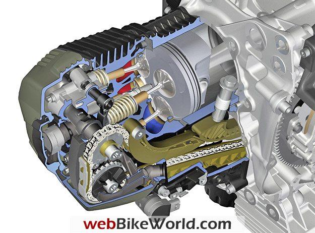 BMW Boxer Engine Cutaway