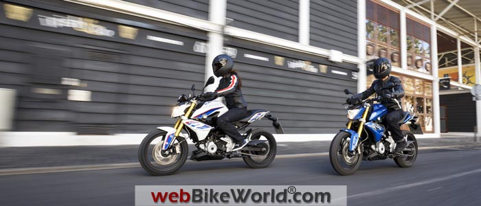 BMW G310R Pair On the Road