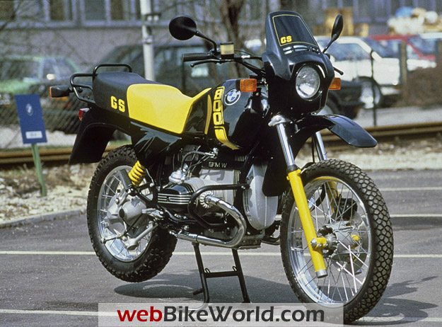 BMW R 80 GS Bumblebee