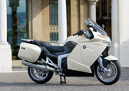 BMW K 1200 GT in White