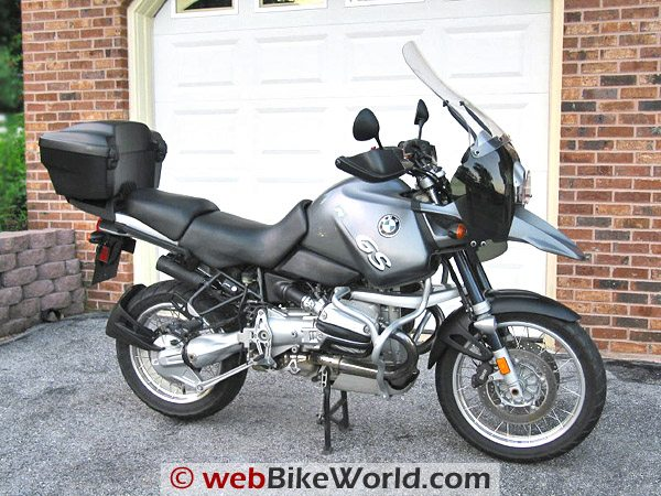 BMW R 1150 GS With Top Case