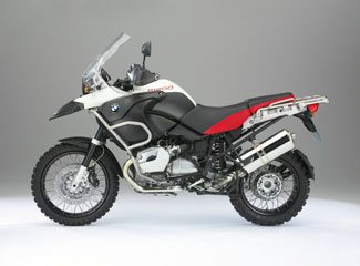 BMW R 1200 GS Adventure - Side View, Red