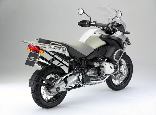 BMW R 1200 GS Adventure - Rear Quarter View