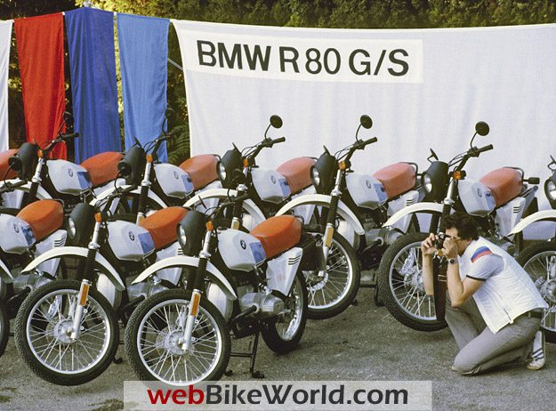 A Fleet of BMW GS-Series Motorcycles