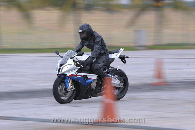 BMW S 1000 RR Review - ABS Testing