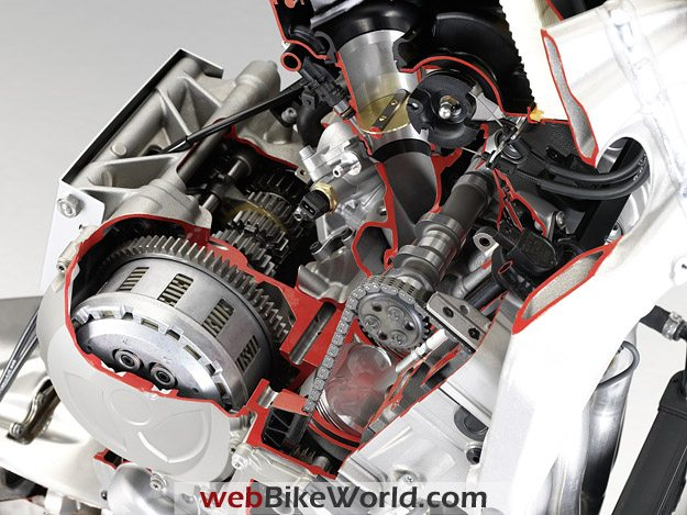 BMW S1000RR - Engine and Transmission Cutaway