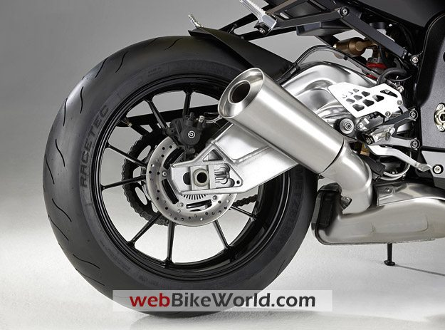 BMW S1000RR - Exhaust
