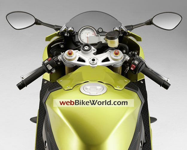BMW S1000RR - Dashboard and Instruments