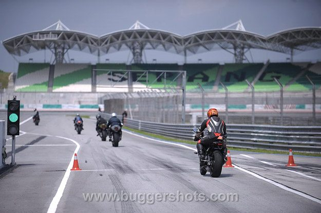 BMW S 1000 RR Review - Entrance to Sepang Circuit