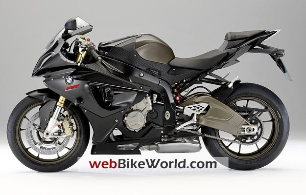 BMW S1000RR in Thunder Grey Metallic, Left Side
