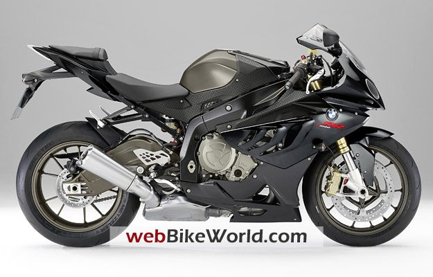 BMW S1000RR in Thunder Grey Metallic, Right Side