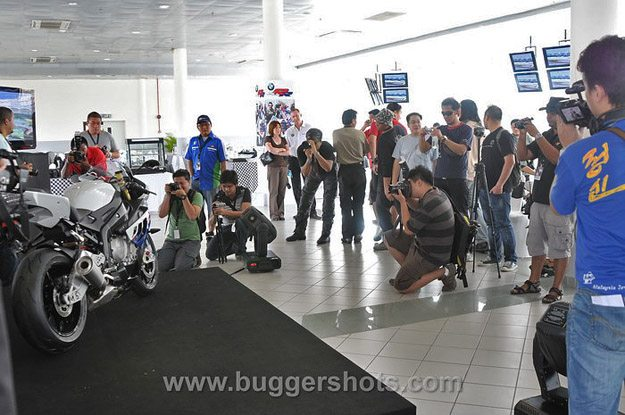 Press Introduction to the BMW S 1000 RR