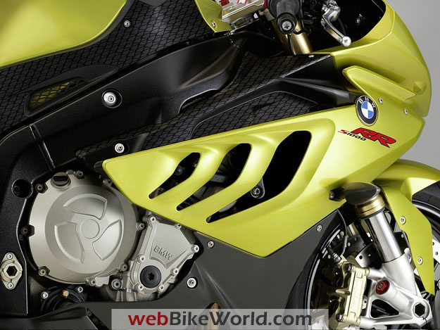 "BMW S1000RR - Right Side ""Shark"" Vents"