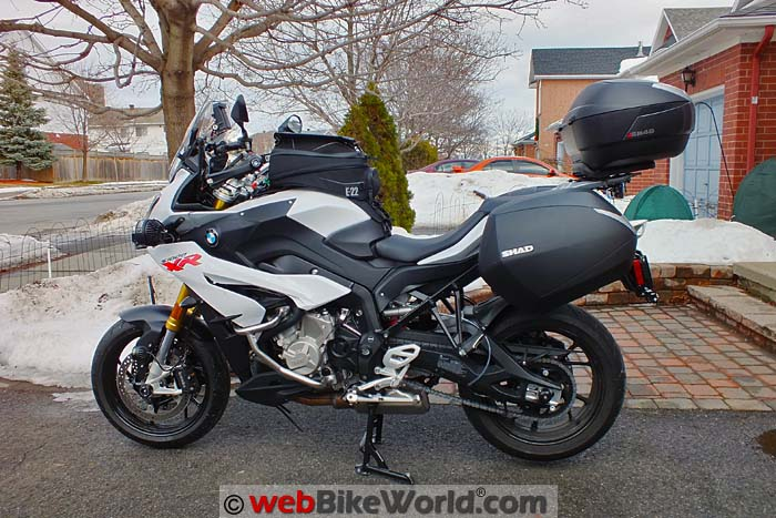 BMW S1000XR With All Luggage Mounted