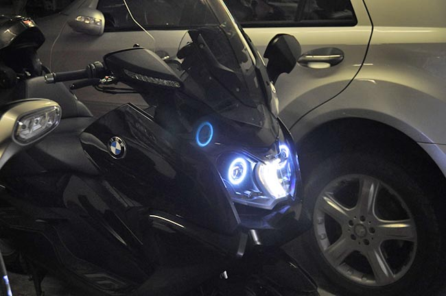 BMW Scooter Bi-Xenon Lights
