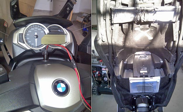BMW Scooter Electrical Outlet