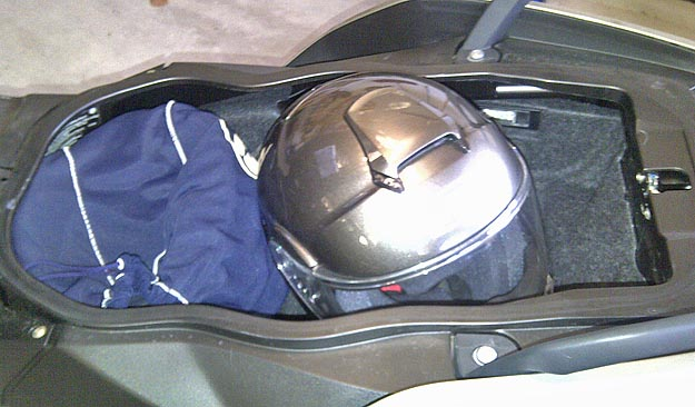 BMW Scooter Underseat Storage