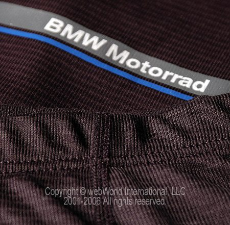 BMW Summer Motorcycle Underwear Closeup