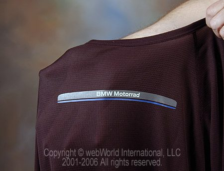 Sheer Fabric on BMW Motorcycle Summer Underwear