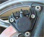 Brembo motorcycle brake caliper