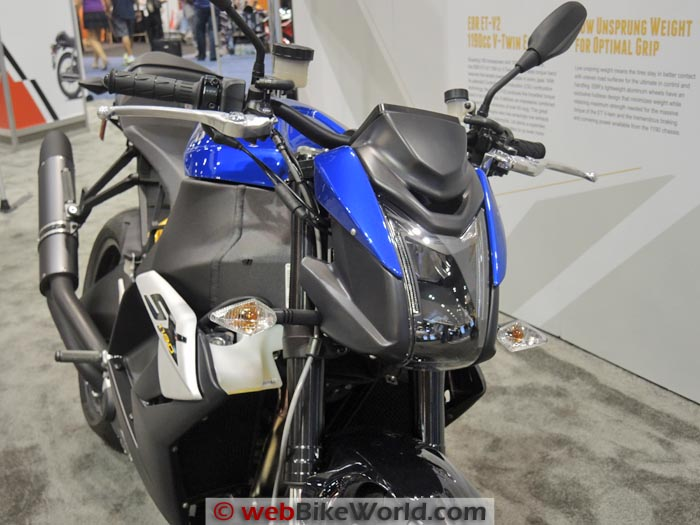 Buell 1190SX Blue Front