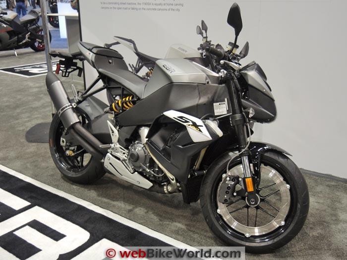 Buell EBR 1190SX Gray