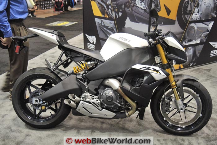 Buell EBR 1190SX White Right Side