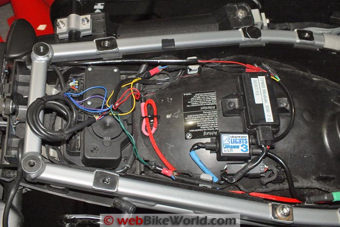 Clearwater CANopener Wiring Under Seat